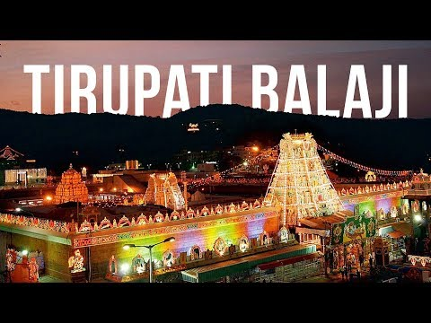 Chennai to Tirupati Balaji Temple || India Travel Vlog