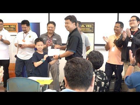 E24XUR in FCC Amateur Radio License Examination (Bangkok)