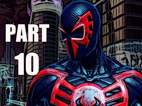 THE AMAZING SPIDER-MAN 2 VIDEOGAME WALKTHROUGH - PART 10 - 2099 (HD)