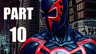 THE AMAZING SPIDER-MAN 2 VIDEOGAME WALKTHROUGH - PART 10 - 2099 (HD)