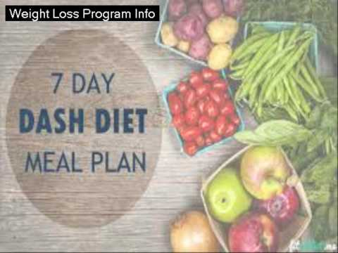 Dash Diet Menu Plan