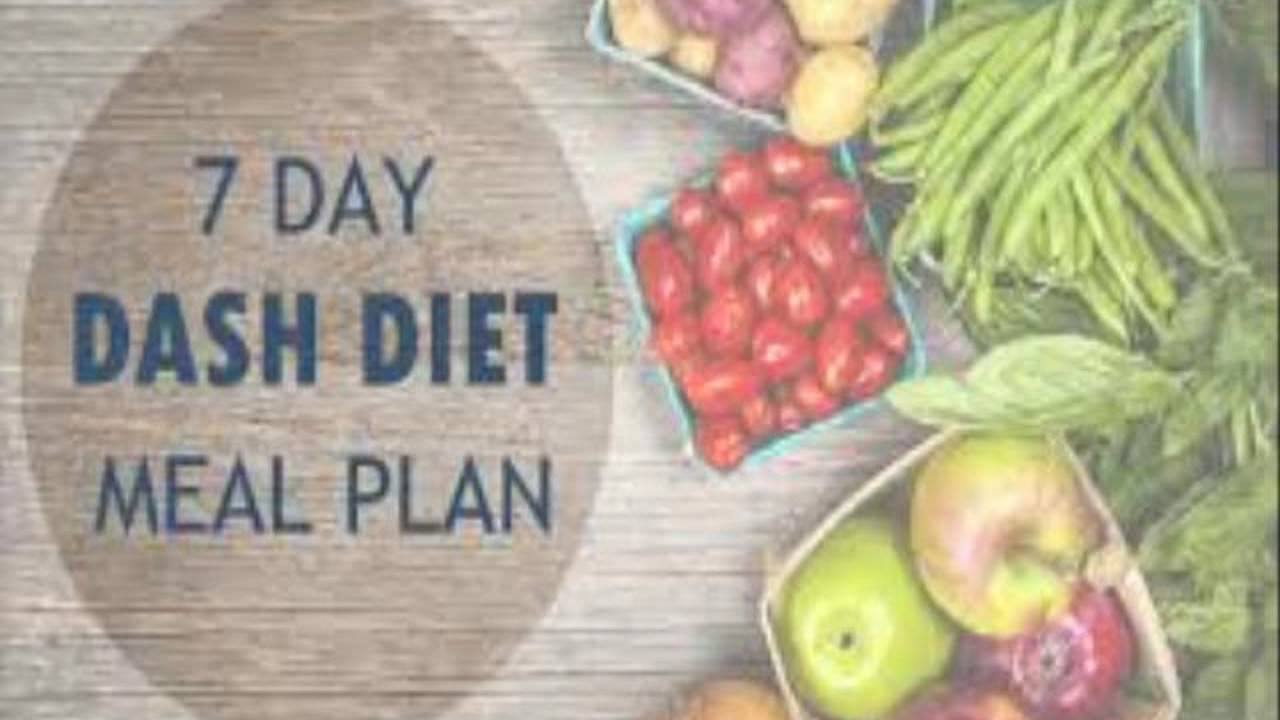 Dash Diet Menu Plan - YouTube
