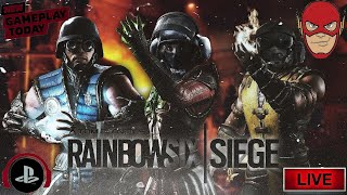 (New Game Play)Rainbow Six Siege|Team Tactical Online|#TomClancyRainbowSixSiege #PS4 #Collaboration