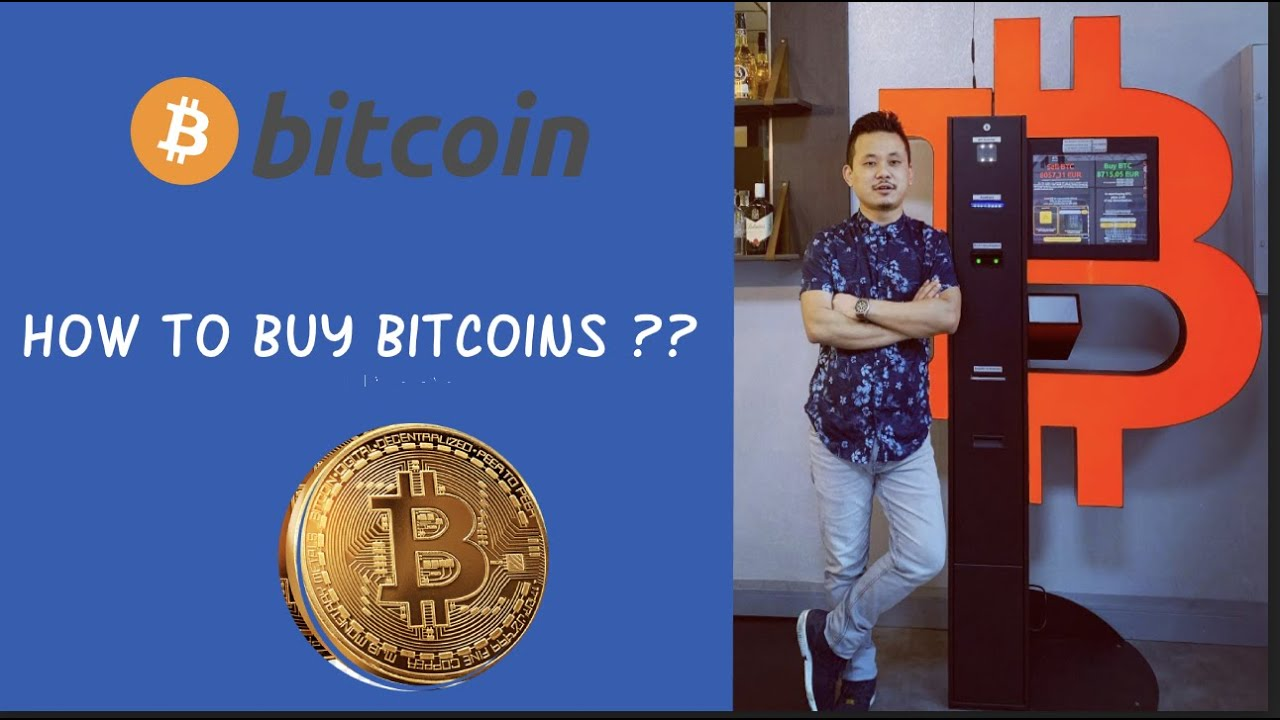 HOW TO BUY BITCOIN FROM BITCOIN ATM MACHINE ? ₿ ₿ - YouTube