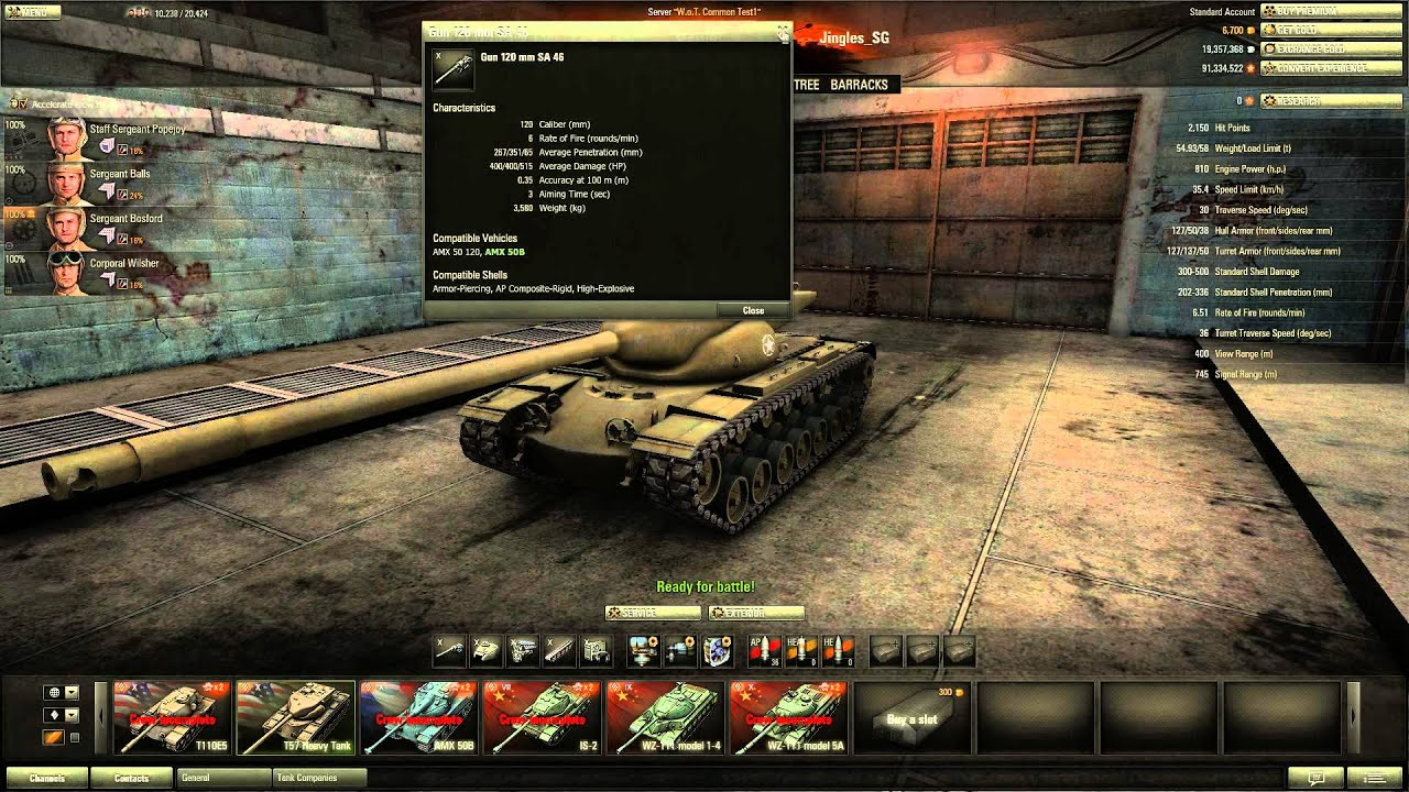 World of Tanks - Patch 8.2 Preview - T57 Tier 10 Heavy ...