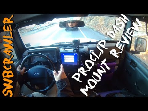 ProClip Jeep #Wrangler Dash Tablet Mount Review