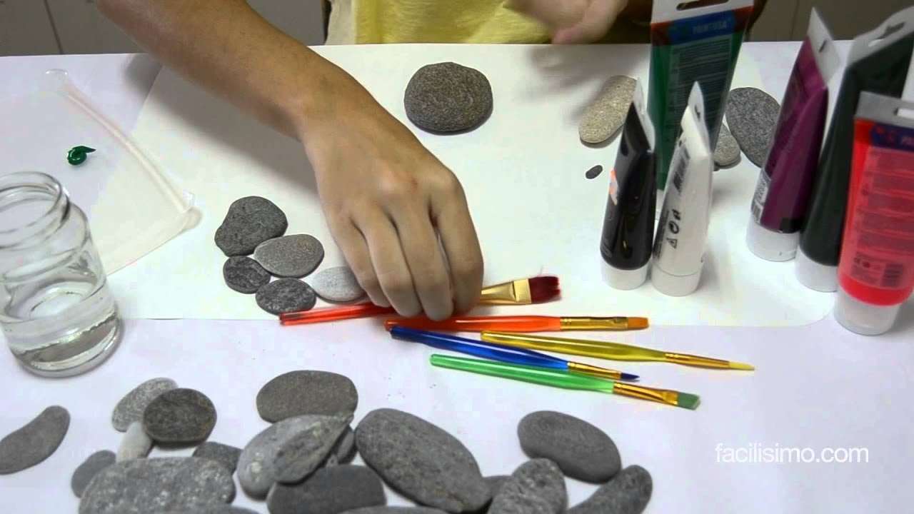 C mo hacer cactus con piedras doovi - Moldes para piedras artificiales ...