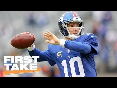 Eli Manning Earned Right To Have Benefit Of The Doubt   First Take   April 19, 2017