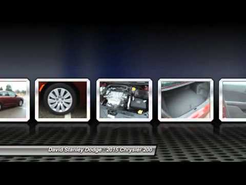 2015 chrysler 200 david stanley dodge 23069 youtube. Cars Review. Best American Auto & Cars Review