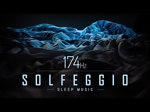 174 Hz | Pain Relief Music for Sleep | Solfeggio Sleep Music | 9 Hours