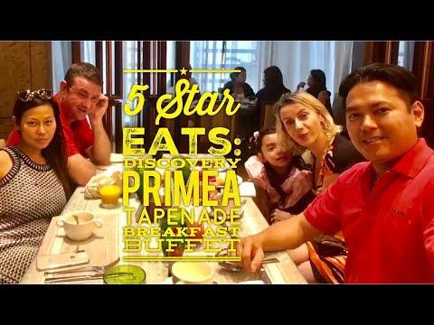 5 Star Eats: Discovery Primea Tapenade Breakfast Buffet Makati Metro Manila by HourPhilippines.com