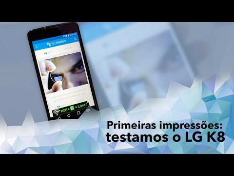 Hands-on: Testamos O Novo Smartphone LG K8