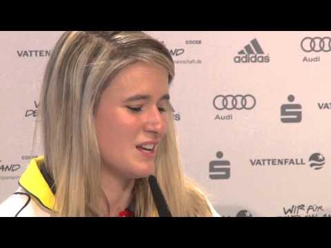 Rodeln: Natalie Geisenberger über Flucht auf die Toilette | Olympische Winterspiele Sotschi 2014
