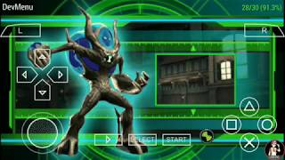 Ben 10 ultimate alien cosmic destruction level 2 Eiffel Tower part 1 android (ppsspp) gameplay