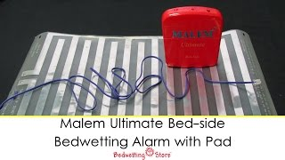 Bedwetting Store - Malem Ultimate Bed-side Bedwetting Alarm with Pad