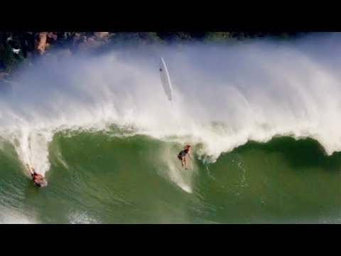 Wipeout: when a wave plays hit & run.