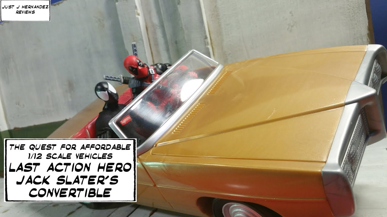 1/12 Vehicles for Marvel Legends Figures + More! Last Action Hero  Convertible! Toy Car Jawning!