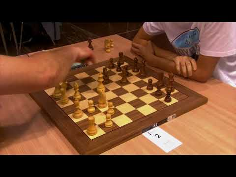 GM Fridman Daniel -   IM Korchmar Vasiliy, Blitz chess, Catalan opening,