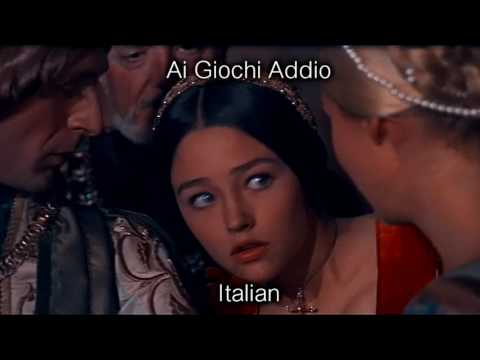 Romeo and Juliet (1968) — What is a youth? [ Multi-Language Version ]