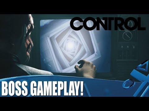 Битва с боссом в новом геймплейном ролике игры Control