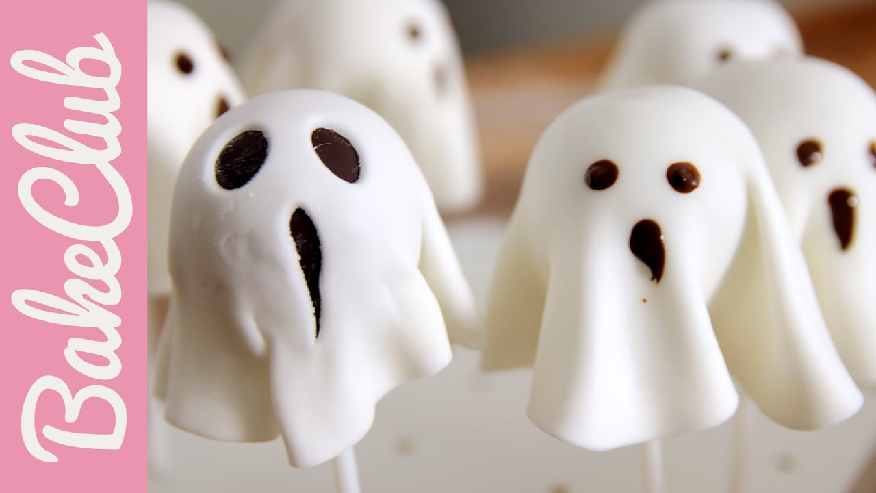 gespenster cake pops (halloween essen) | bakeclub - youtube
