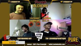 FREESTYLE ABOUT RELOADING - EARTHBOUND BOY // Freestyle Alchemy Improv Rap Show