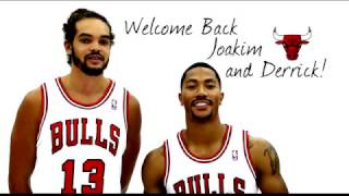 Tributo Video Chicago vs Knicks game for Derrick Rose and Joakim Noah