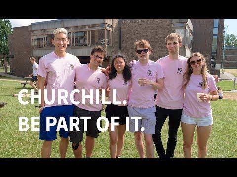 Churchill. Be Part Of It.