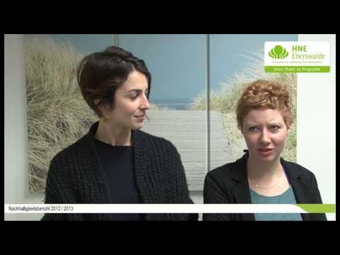 Alexandra Petrikat & Paula Voigt und die HNEE [HD]