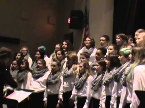 "Luray Middle School singing ""Blessings"" by Laura Story"