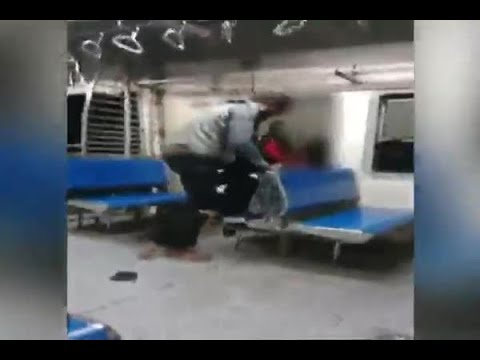 Shocking Video: Woman molested in front of cop in Mumbai local train