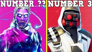 RANKING EVERY 'PROMOTIONAL SKIN' FROM WORST TO BEST! (Fortnite Battle Royale!)