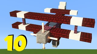 Minecraft: 10+ Military Build Hacks and Ideas! [easy]