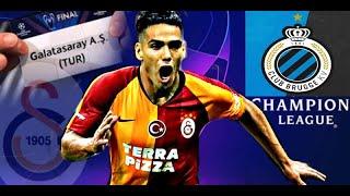 Galatasaray vs Club Brugge   ÖNCEDEN OYNADIK