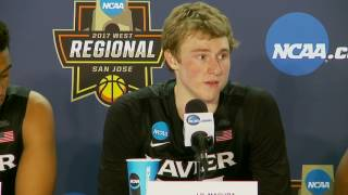News Conference: Xavier Sweet Sixteen Postgame