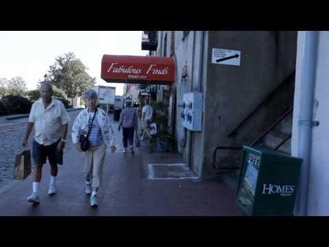 A Walk Down River Street - Savannah, Georgia