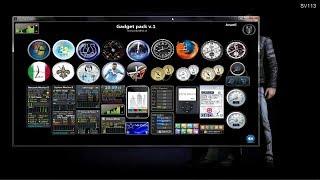 make use of gadget on windows 7