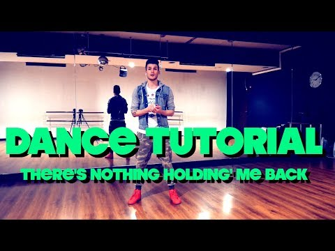 DANCE TUTORIAL | Shawn Mendes - There's Nothing Holdin' Me Back | choreography by Andrew Heart