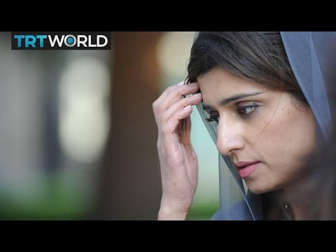 Pakistan's former Foreign Minister Hina Rabbani Khar speaks to the Newsmakers