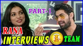 Rana Interviews Size Zero Movie Team Part-1 || Anushka, PVP, Arya, Sonal Chauhan