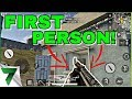 PUBG MOBILE FIRST PERSON MODE IS HERE!! | PUBG MOBILE