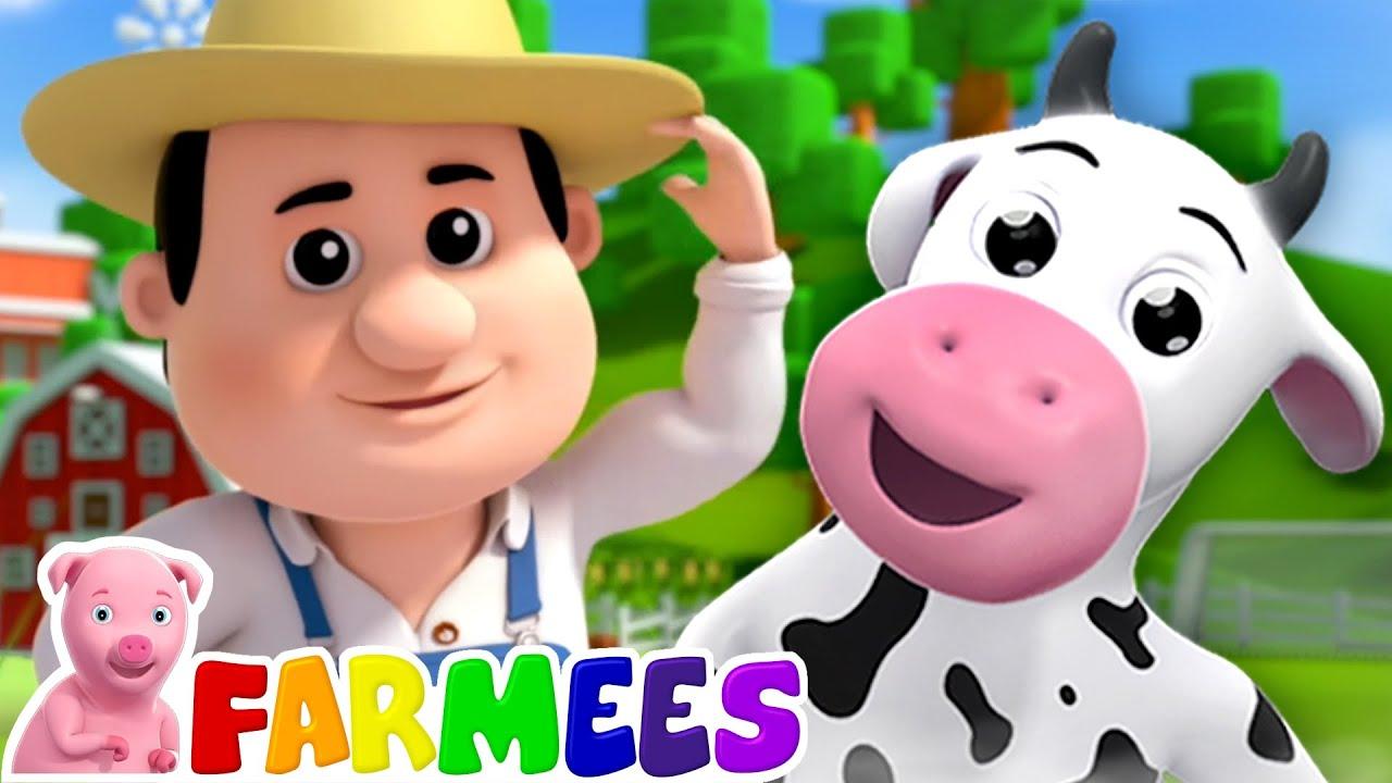 Old MacDonald Had A Farm | Farm Song | Nursery Rhymes & Baby Songs with Farmees | Kids Rhyme