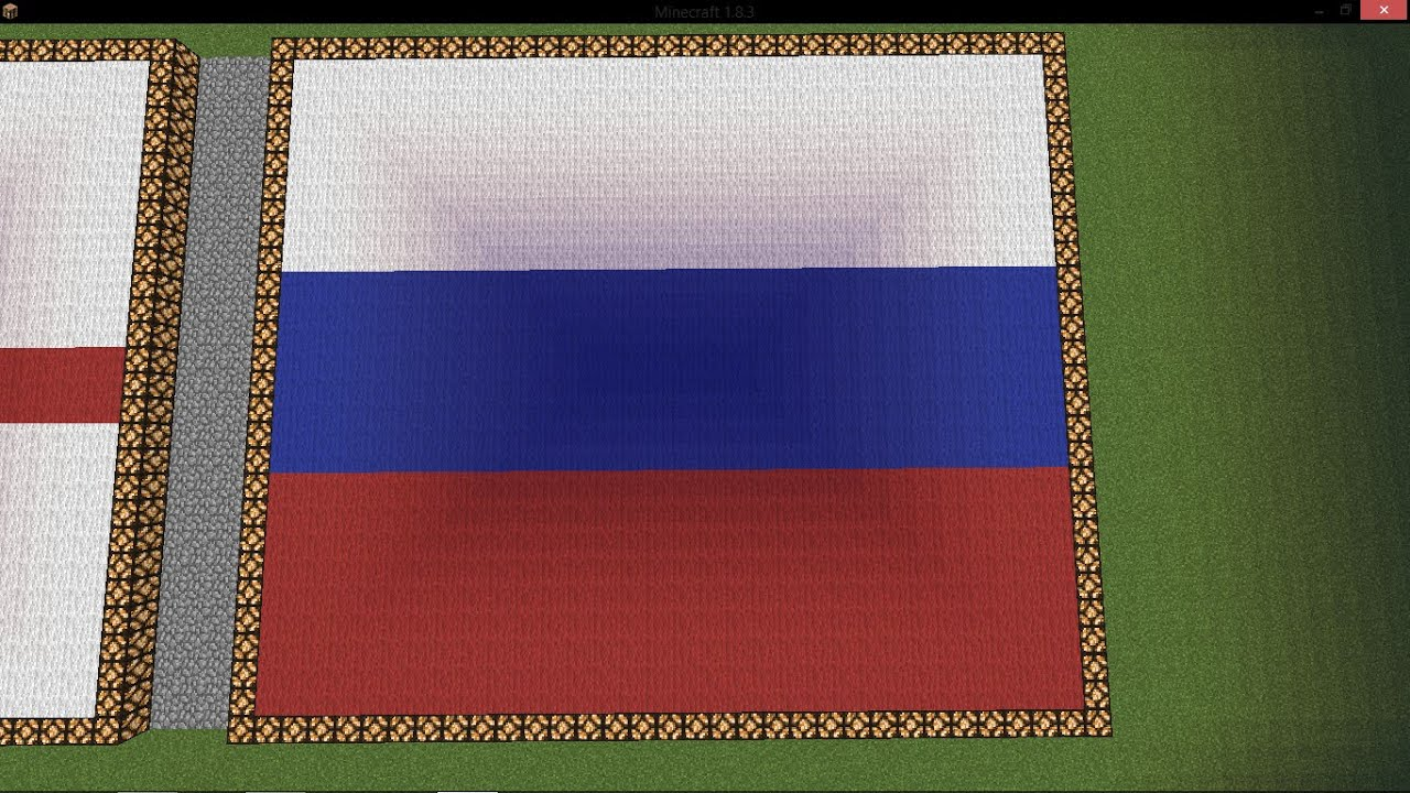 флаг россии в майнкрафт картинки сделаль спасибо