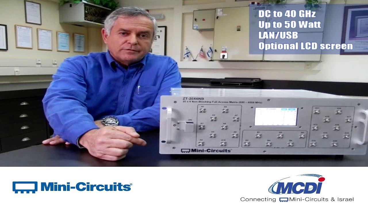 Mini circuits sp8t