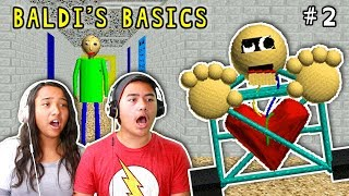 New Learning Update, More Intense! | Baldi's Basics In Education | Gameplay #2 | Minecraft Ethan