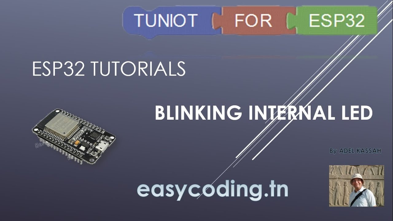 Esp32 Tutorial 1 Blinking Internal Led Youtube Blinked To Blink An You Need Some Kind Of Electronic Circuit