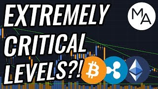 Will We BREAK These CRITICAL Support Levels In Bitcoin & Crypto Markets?! BTC, ETH, XRP, & BCH News!