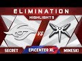 Secret vs Mineski Elimination EPICENTER XL Major 2018 Highlights Dota 2