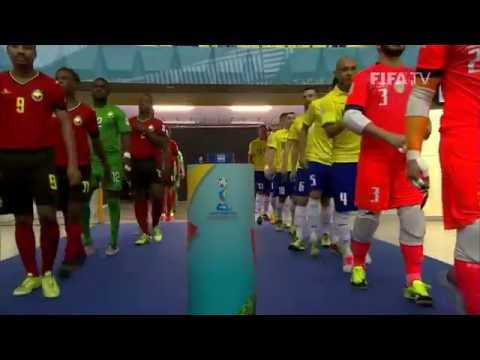 Match 32: Brazil v Mozambique - FIFA Futsal World Cup 2016