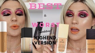 FAV (& WORST!) HIGH END FOUNDATIONS || GIO DREVELI ||
